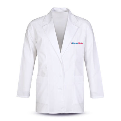 Picture of Ladies Fitted Fashion Lab Coat