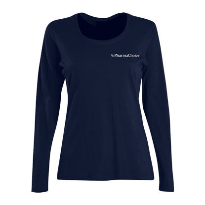 Picture of Ladies Fashion Fit Long Sleeve T-Shirt