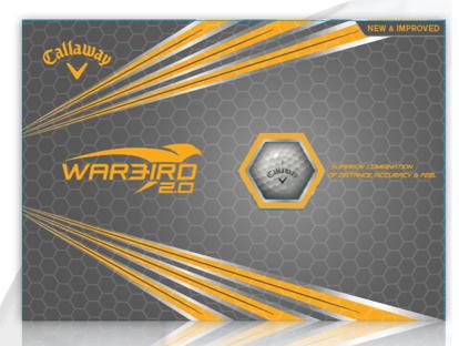 Picture of Callaway Warbird 2.0 Logo Golf Balls